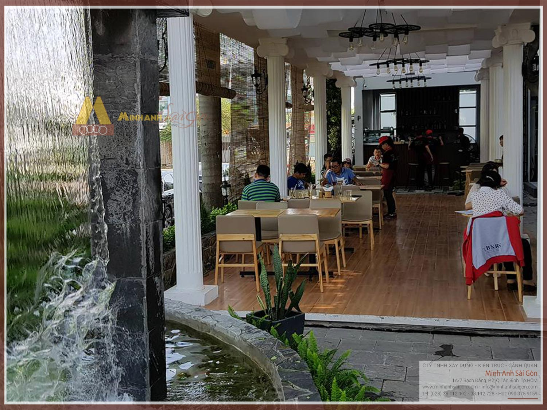 Thi công quán cafe sân vườn - Felix Cafe